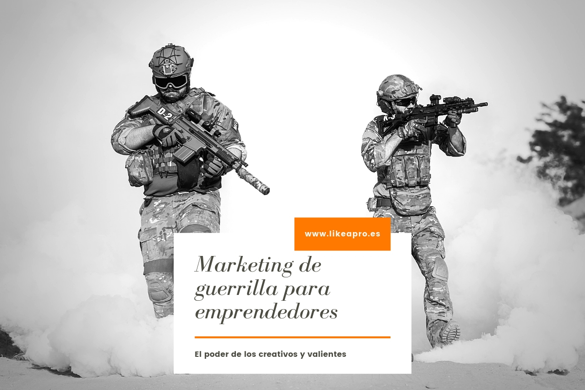 marketing de guerrilla para emprendedores